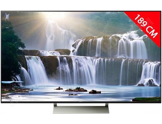 TV LED 4K 189 cm SONY KD75XE9405BAEP