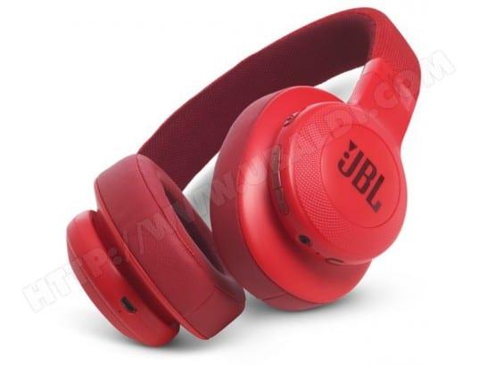 Casque sans fil JBL E55 BT Rouge