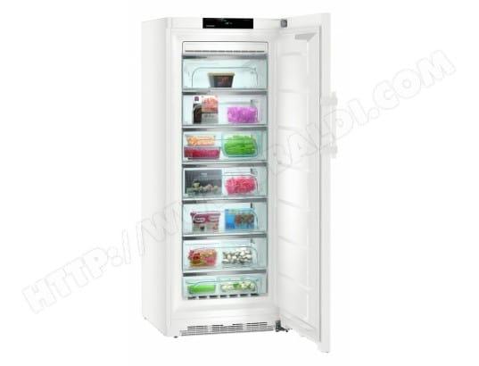 Liebherr gnp4655 20 pas cher cong lateur armoire liebherr livraison gratuite - Congelateur miele armoire ...