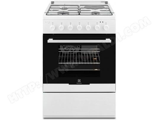 plus récent 90d4c c6dec ELECTROLUX EKM60398OW Pas Cher - Cuisiniere mixte ELECTROLUX ...