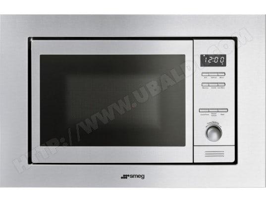 Smeg mi20x 1 pas cher micro ondes grill encastrable smeg - Micro onde grill encastrable ...