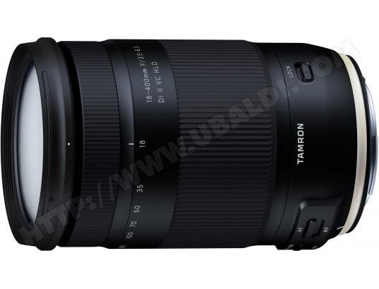 Objectif Reflex TAMRON 18-400mm F/3,5-6,3 Di II VC HLD Nikon
