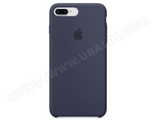 Coque iPhone APPLE Coque silicone iPhone 8 Plus / 7 Plus - Bleu nuit
