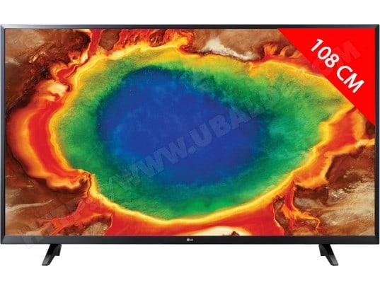TV LED 4K 108 cm LG 43UJ620V