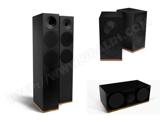 Pack d'enceintes Home Cinema TANGENT Spectrum X6 (x2) + Spectrum X4 + Spectrum XC noir