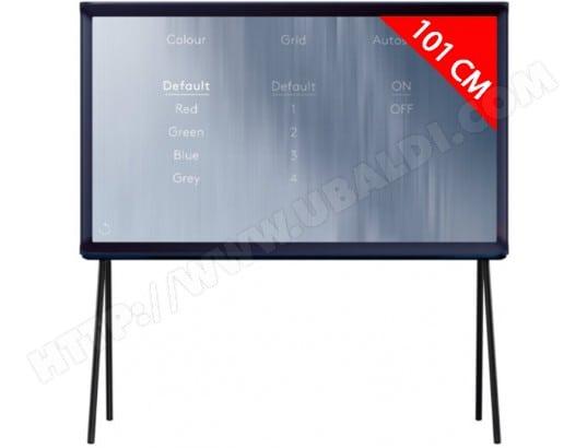 TV LED 4K 101 cm SAMSUNG Serif - UE40LS001CUXZF Bleu foncé