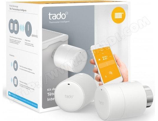 Vanne de radiateur TADO Kit de démarrage (2 têtes + 1 bridge)
