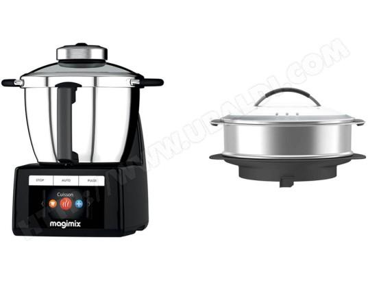 Robot cuiseur MAGIMIX Cook Expert Noir et Panier vapeur XXL