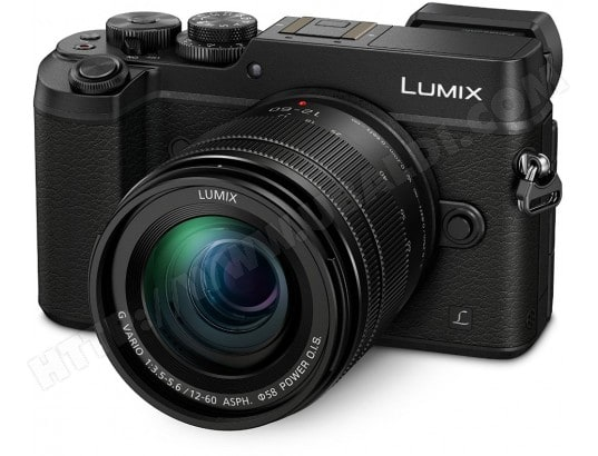 Appareil photo Hybride PANASONIC Lumix DMC-GX8 Kit + 3,5-5,6/12-60 OIS