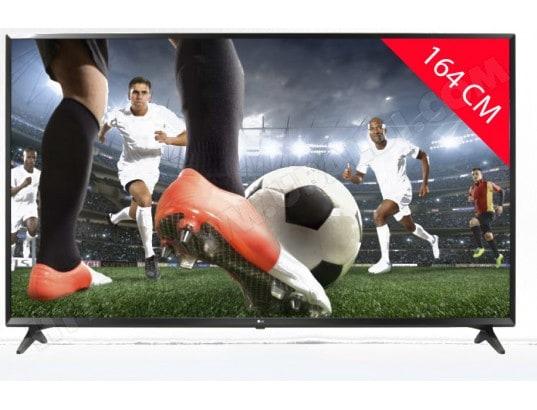 TV LED 4K 164 cm LG 65UK6100