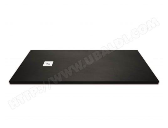 Receveur De Douche Extra Plat Noir Anthracite 90x100 Cm