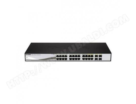 Switch D-Link DGS-1210-24P 24 p 10 / 100 / 1000 Mbps 4 x SFP D-LINK BBS0202367