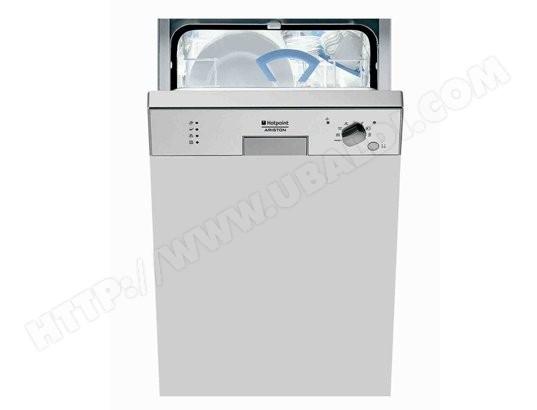 hotpoint ariston lv465chaix - lave vaisselle integrable 45 cm