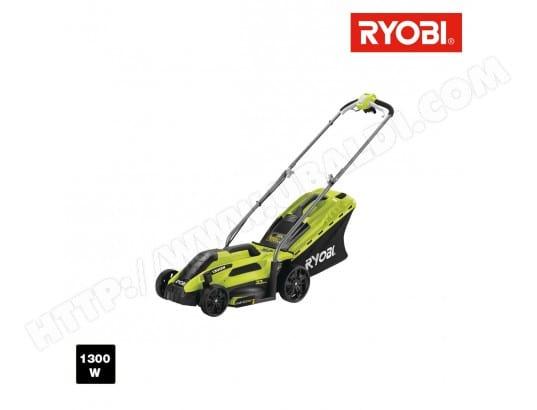 tondeuse lectrique ryobi 1300w coupe 33cm rlm13e33s ryobi. Black Bedroom Furniture Sets. Home Design Ideas