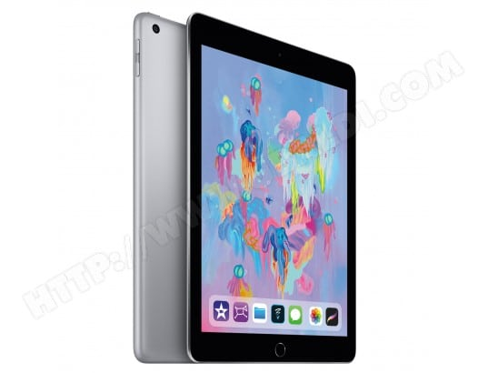 iPad APPLE iPad 2018 Wi-Fi 32Go Space Grey