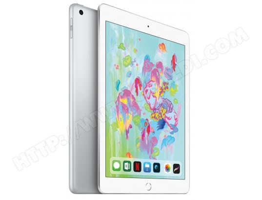 iPad APPLE iPad 2018 Wi-Fi 4G 32Go Silver
