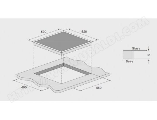 nouveau style d1eb2 724e2 SCHNEIDER SFI603S - Plaque induction Pas Cher