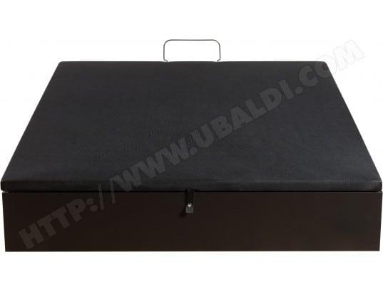 Sommier 160 X 200 Merinos Coffre Inout 160x200cm Décor Noir