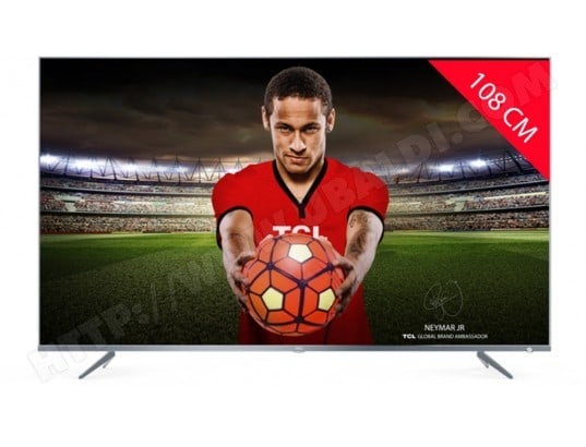TV LED 4K 108 cm TCL 43DP640