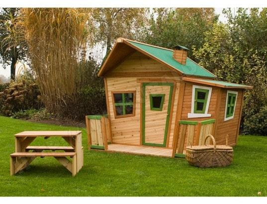grande cabane en bois lisa axi d10341 pas cher. Black Bedroom Furniture Sets. Home Design Ideas
