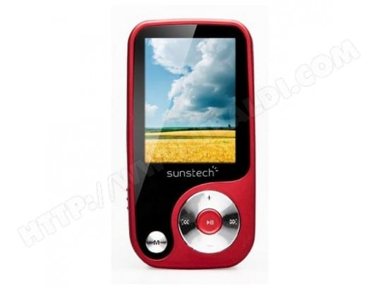 MP4 Sunstech Thorn 4 GB Rouge SUNSTECH BBS0401644