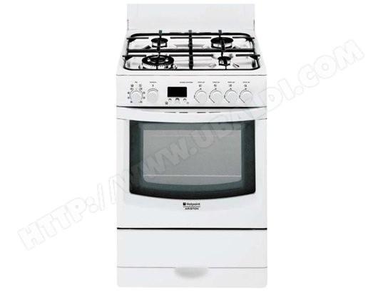 hotpoint ariston cx65sfawfha pas cher cuisiniere gaz. Black Bedroom Furniture Sets. Home Design Ideas