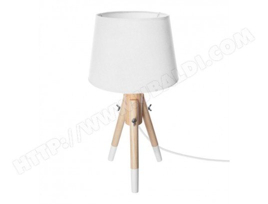 Trépied Blanc 46 Atmosphera Miry Cm Lampe H Bois wkZulOXTPi