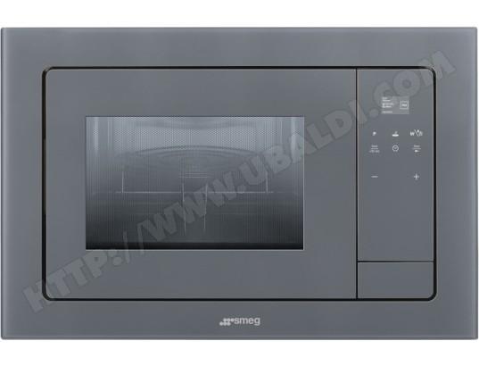 Smeg fmi120s1 pas cher micro ondes grill encastrable - Micro onde grill encastrable ...