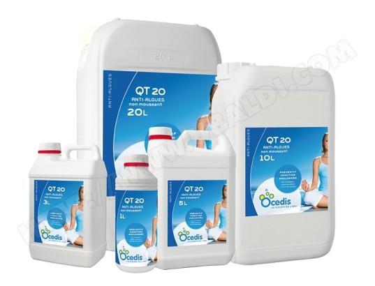 anti algues qt 20 pour piscine 5 l ocedis generique ma 23ca227anti x9kfl pas cher. Black Bedroom Furniture Sets. Home Design Ideas