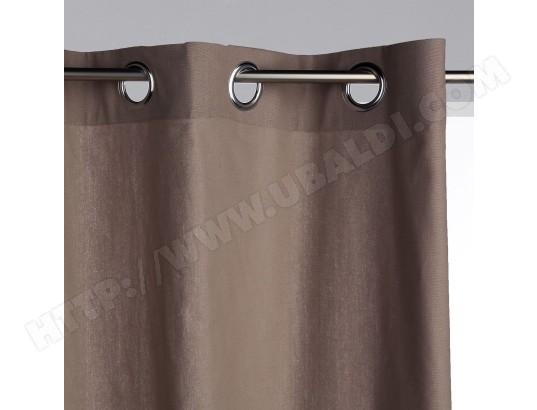 rideau panama 140 x 260 cm couleur lin atmosphera ma 23ca528ride 8gpac pas cher. Black Bedroom Furniture Sets. Home Design Ideas
