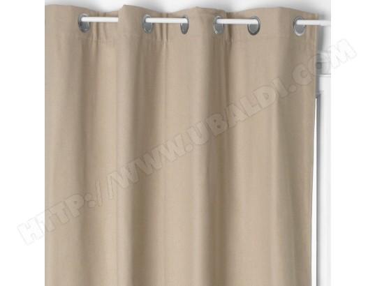 rideau isolant laura 140 x 260 cm couleur lin atmosphera ma 23ca528ride p91mg pas cher. Black Bedroom Furniture Sets. Home Design Ideas
