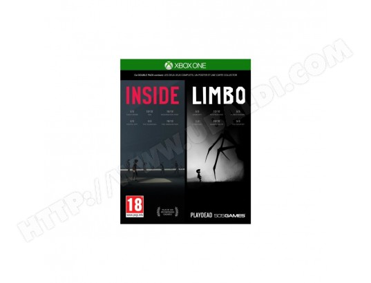 Inside/Limbo Double Pack pour Xbox One 505 GAMES MA-52CA463INSI-P8NDF