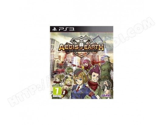 Aegis of Earth : Protovonus Assault Jeu PS3 JUST FOR GAMES MA-26CA334AEGI-03HDR