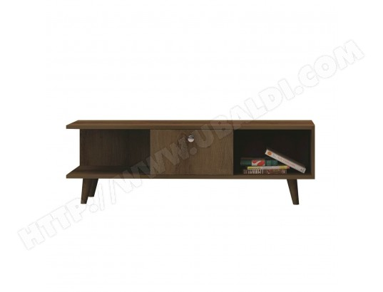 Meuble Tv Vintage Stand L 135 X H 40 Cm Marron Homania Ma