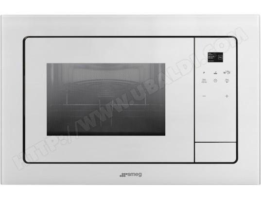 Smeg fmi120b1 pas cher micro ondes grill encastrable - Micro onde grill encastrable ...