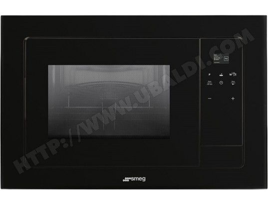 Smeg fmi120n1 pas cher micro ondes grill encastrable - Micro onde grill encastrable ...