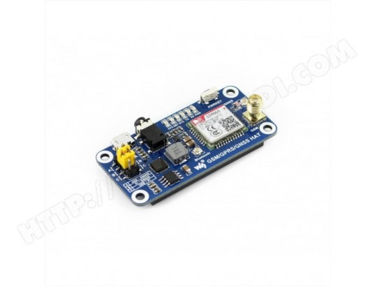 hat gsm gprs gnss bluetooth pour raspberry pi waveshare. Black Bedroom Furniture Sets. Home Design Ideas