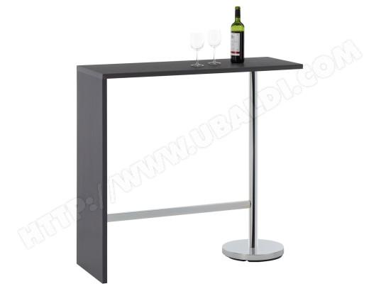 Table Haute De Bar Ricardo Mange Debout Comptoir Piètement
