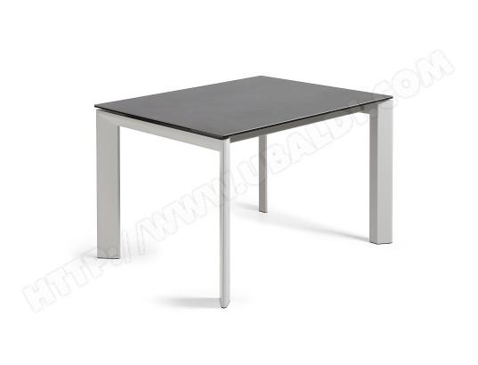 table extensible axis gris et vulcano roca 120 180 x80 cm kave home ma 88ca492tabl 1zy67 pas. Black Bedroom Furniture Sets. Home Design Ideas