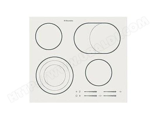 Electrolux Ehs60210iw Plaque Vitroceramique Pas Cher