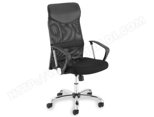 fauteuil de bureau noir avec accoudoirs idimex 15209 pas cher. Black Bedroom Furniture Sets. Home Design Ideas