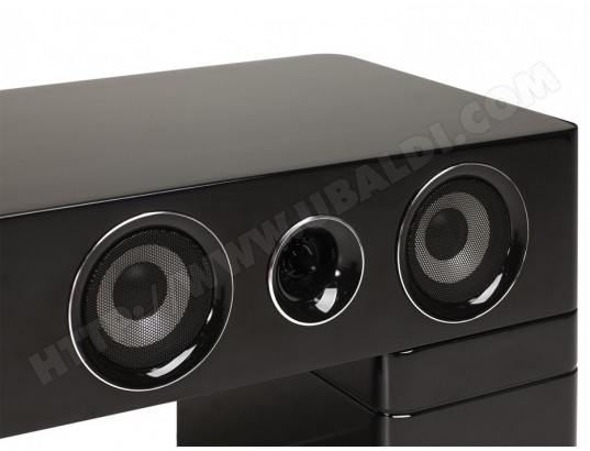 Meuble Tv Home Cinema Integre Watts Ii Bluetooth Noir Vente