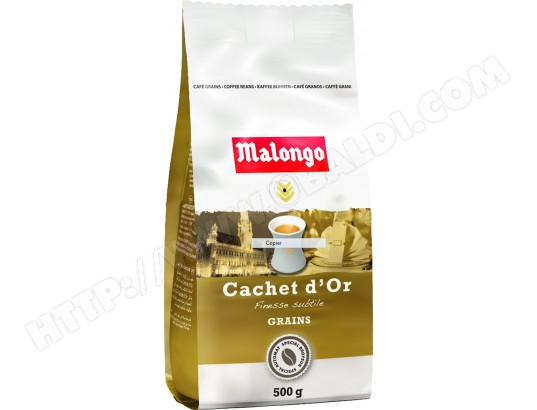 malongo cachet d 39 or grains 500g pas cher caf. Black Bedroom Furniture Sets. Home Design Ideas