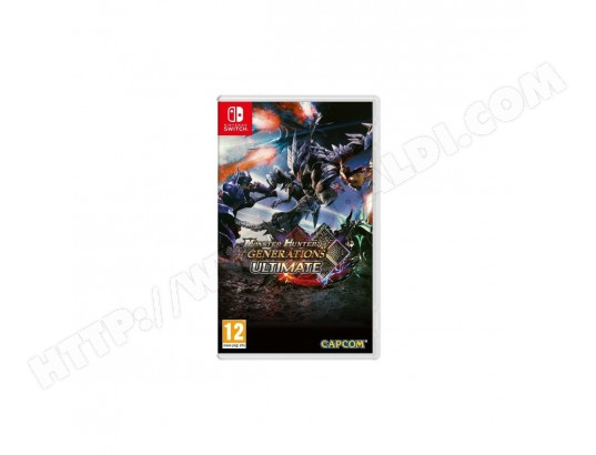 Monster Hunter Generations Ultimate Jeu Switch CAPCOM MA-47CA533MONS-OVTM3