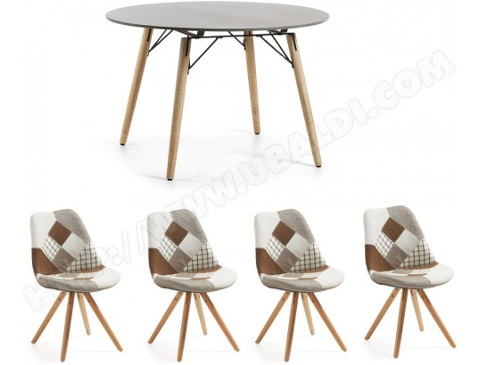 Genial Ensemble Table Et Chaises LF Table Tropo + 4 Chaises