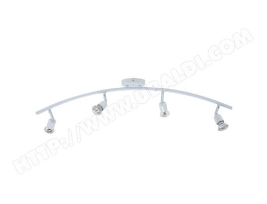 luminaire plafonnier blanche applique plafond 4 spots orientables 4 x 50 w gu10 xelux ma. Black Bedroom Furniture Sets. Home Design Ideas
