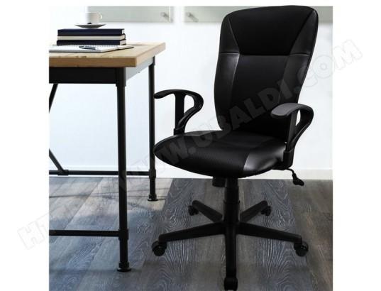 Fauteuil de bureau chaise 5 pieds a roulettes accoudoirs - Fauteuil de bureau inclinable ...