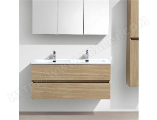 double vasque poser 140 cm lavabo marbre de synth se blanc salle de bain tbd ma 15ca543doub. Black Bedroom Furniture Sets. Home Design Ideas
