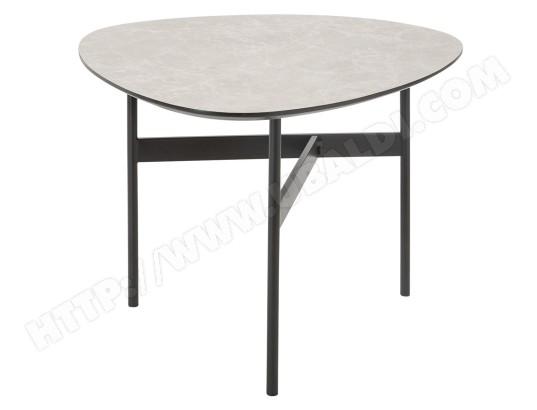 table caf light stone atmosphera ma 23ca182tabl ed49v pas cher. Black Bedroom Furniture Sets. Home Design Ideas