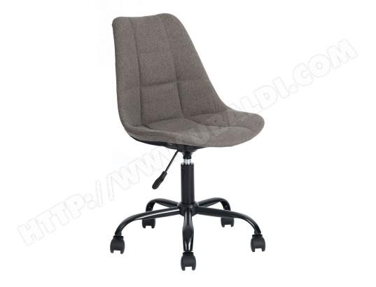Piku chaise de bureau tissu gris altobuy ma ca piku ddxkw